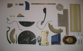 Deconstructed Dansette record player