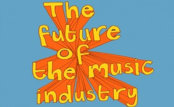 the future of the music industry graphic
